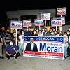 CARL RUSSO/staff photo Supporters celebrate incumbent state rep. Frank Moran's victory. He is battling cancer and was unable to attend the party. Incumbent state rep. Frank Moran, D-Lawrence victory won re-election Tuesday night.  9/01/2020