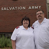 TIM JEAN/Staff photo<br /> <br /> Salvation Army Captains Mari and Jeff Hardy will be leaving the Haverhill chapter after nine years.  6/14/18
