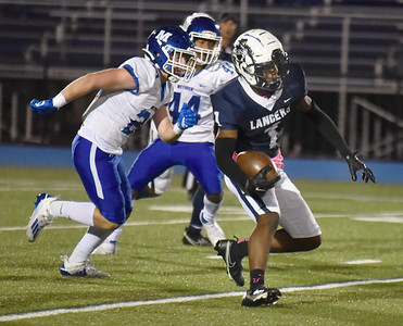 Lawrence against Methuen in Friday night  football action.