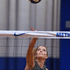 Dutch Methuen high exchange student, Mila Grootswagers is a member of the varsity volleyball team.