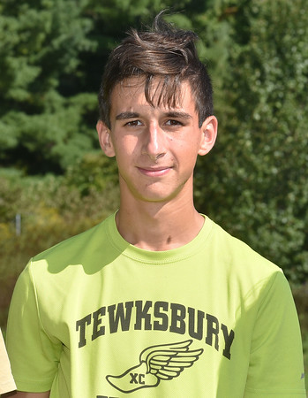 North Andover HS cross country team.