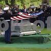 Memorial Services for fallen Marine