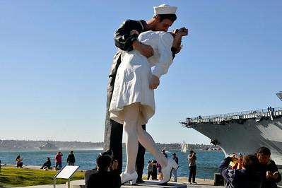 WW2 Statue- San Diego Harbor