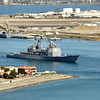 Guided Missile Cruiser- San Diego Harbor