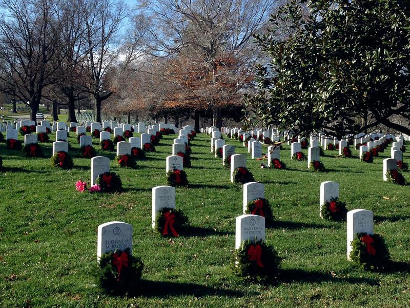 Wreaths Across America- Arlington National Cemetery