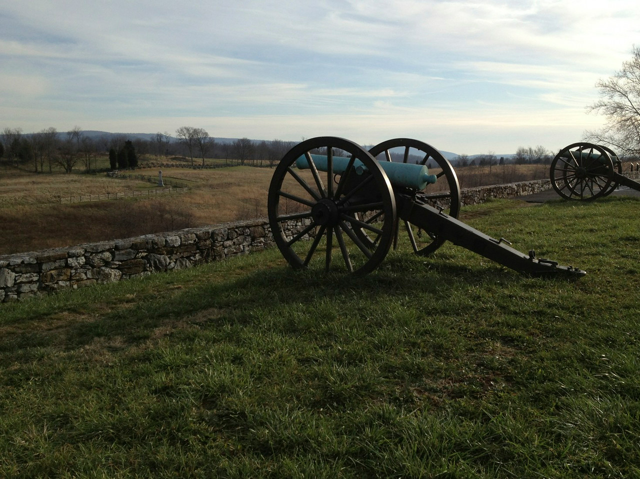 Cannon overlooking Antietam Battlefield
