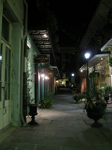 French Quarter Alleyway- New Orleans