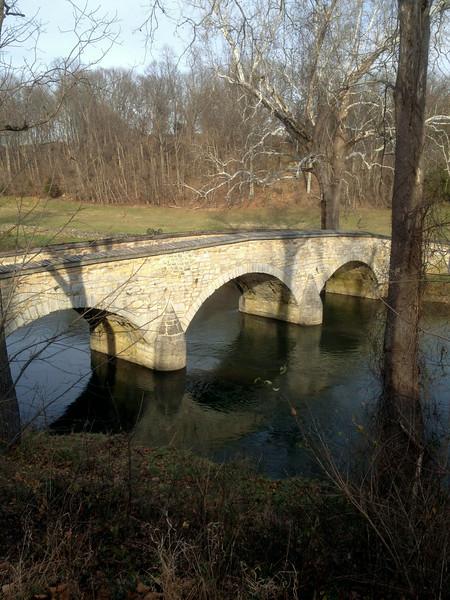 Burnsides Bridge at the Antietam Battlefield