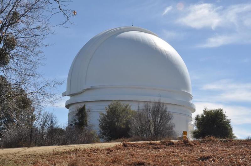 Mt Palomar Observatory  California