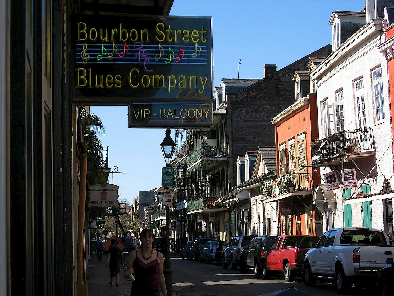Bourbon Street- New Orleans