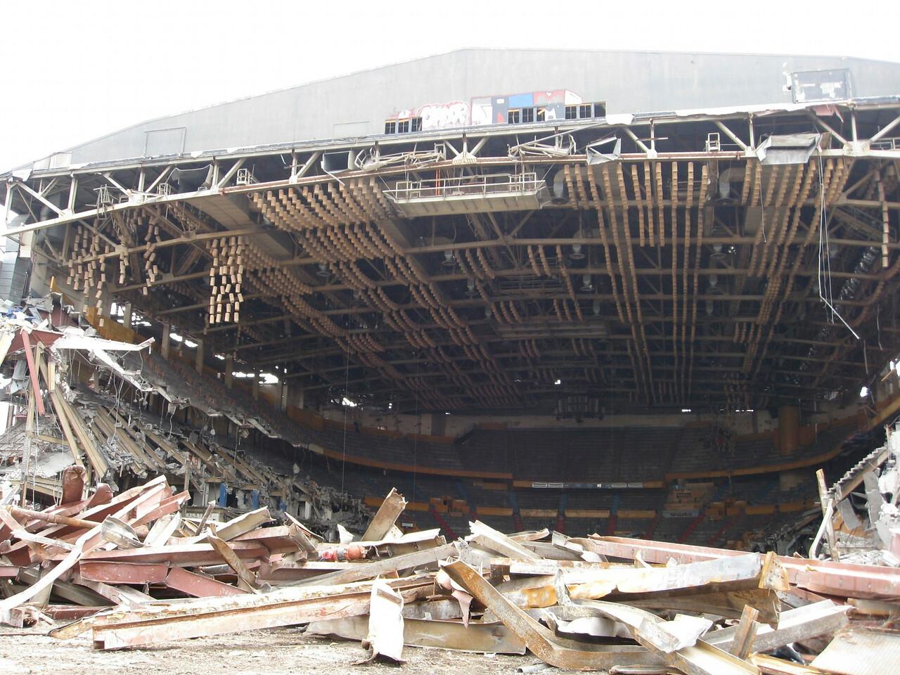 Buffalo Memorial Auditorium Demolition