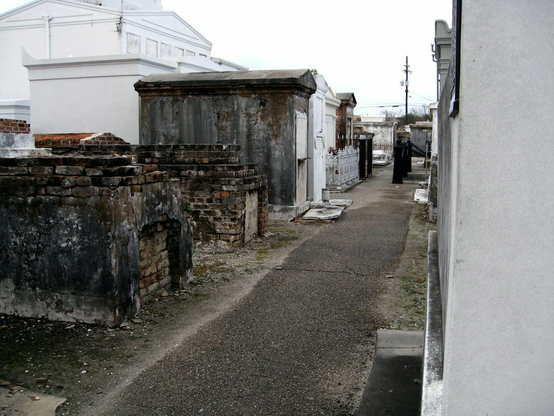 St Louis Cemetery- New Orleans