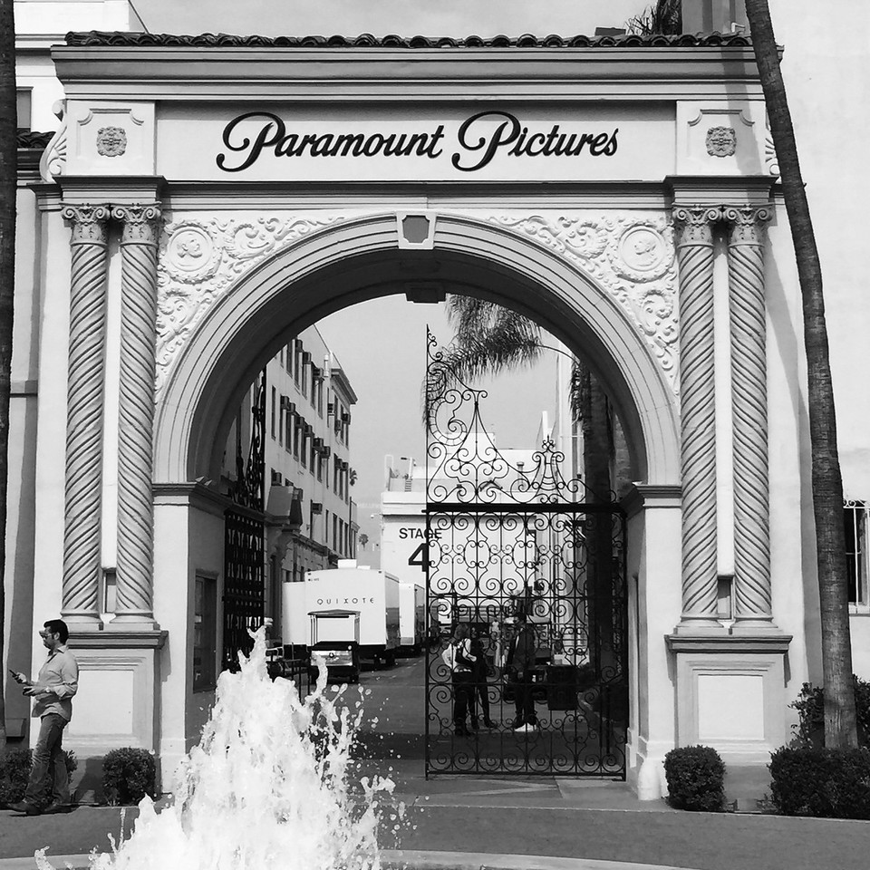 The Bronson Gate Paramount Studios