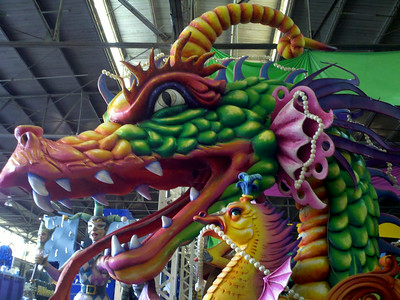 Mardi Gras Float- New Orleans