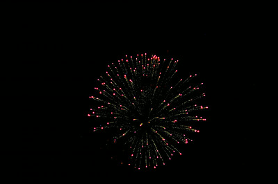 Fireworks 4th of July-Cuba Lake NY