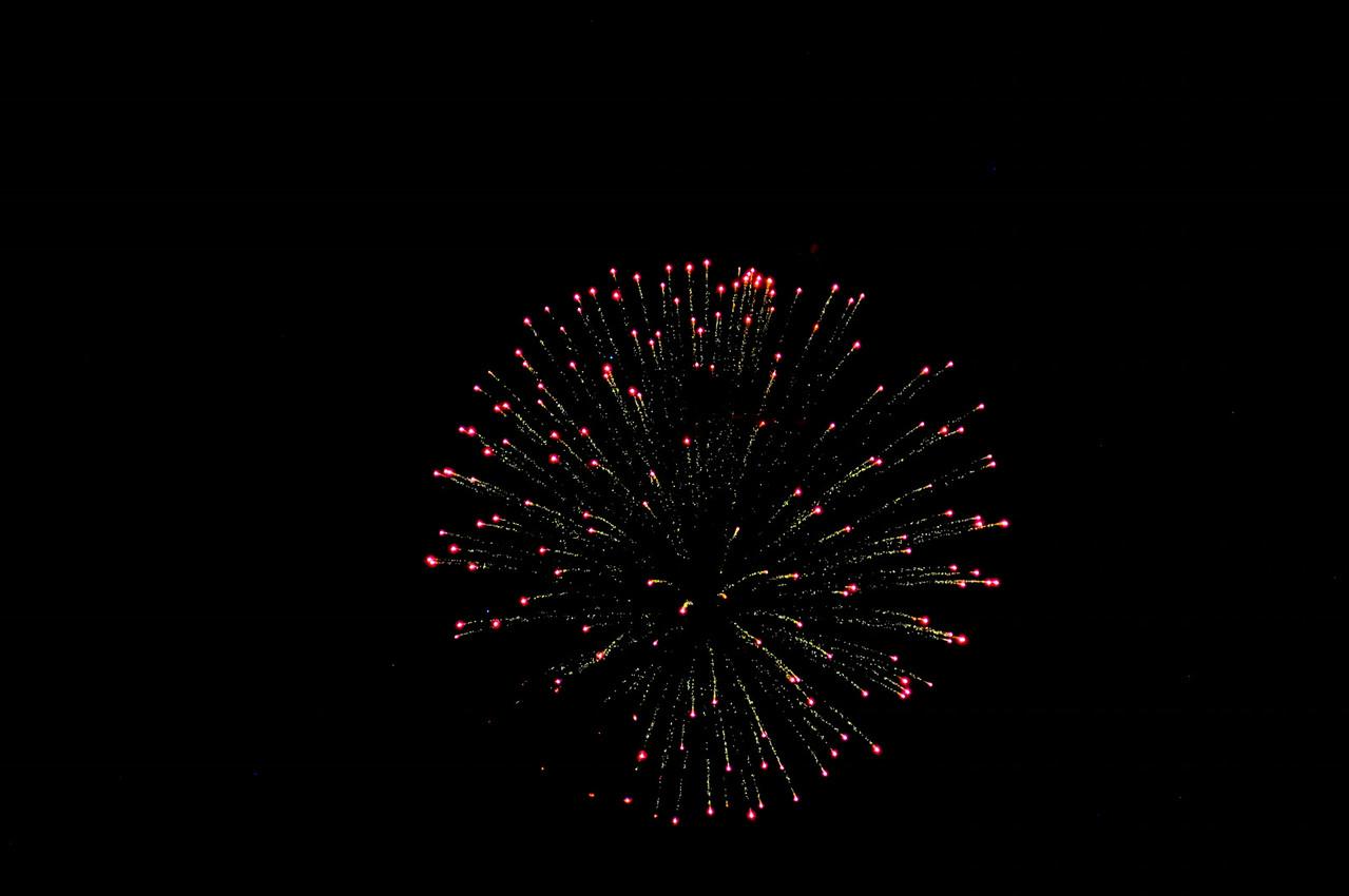 Fireworks 4th of July-Cuba Lake NY