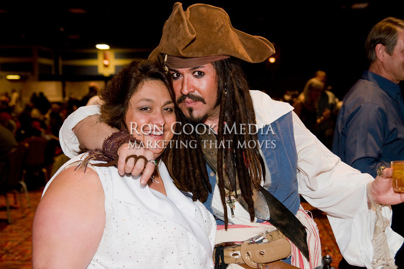 Sam the Pirate and Sonia McClister