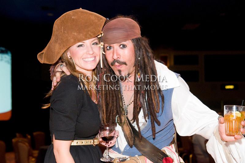 "Kelsey Luce and Sam ""Sparrow"" Mejia"