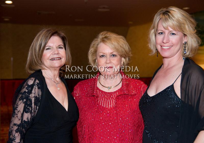 Alice Howard, Bobbi Pearson and Karen Cook