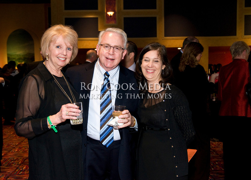 Shirley Caputa, Richard Bullard, and Brenda Gill