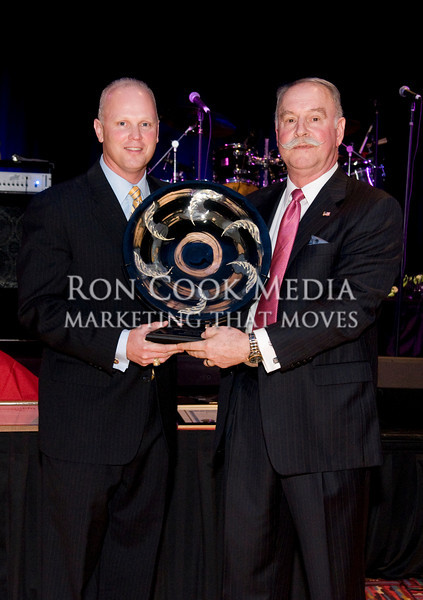 Brian Gray with Roger Roberts