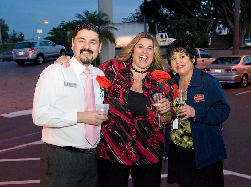 Miguel Rojas, Leslie Rodriguez and Rachel Lynch.