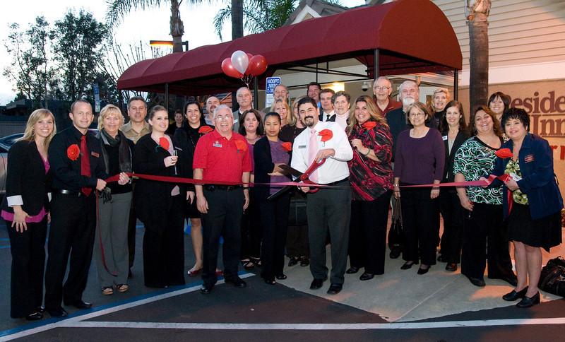 Marriott Residence Inn Ribbon Cutting.<br /> San Diego East County News
