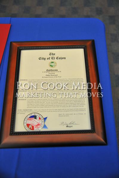 Odie Goward El Cajon Citizen of the Year_9225