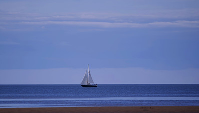 Evening Sail at Victoria Park, PEI