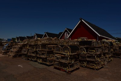 North Rustico Lobster Traps, PEI