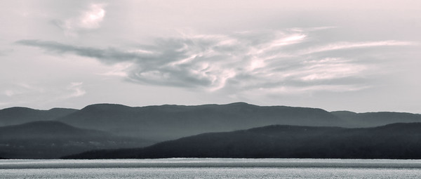 Laurentian Mountains, St. Lawrence River QC