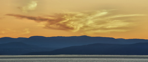 Laurentian Mountains at Sunset, QC