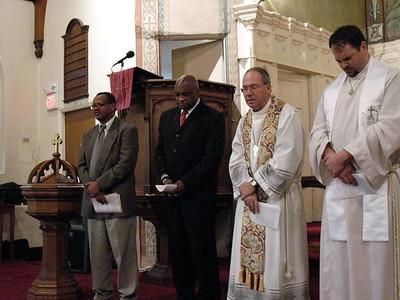 Prayers offered at anniversary service (Cambridge, MA)