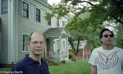 Jay Kerr and Ron N in Vermont