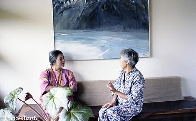 Toshiko Takaezu and Gerry Tam, Kauai_1981