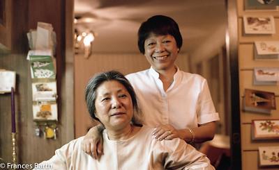 Toshiko and Estelle Takaezu _1981_Oahu