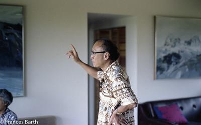 Reuban Tam, his home in Kauai_1981
