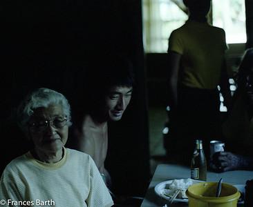 Auntie Araki, Sid, Trish, Uncle Eddie_1981