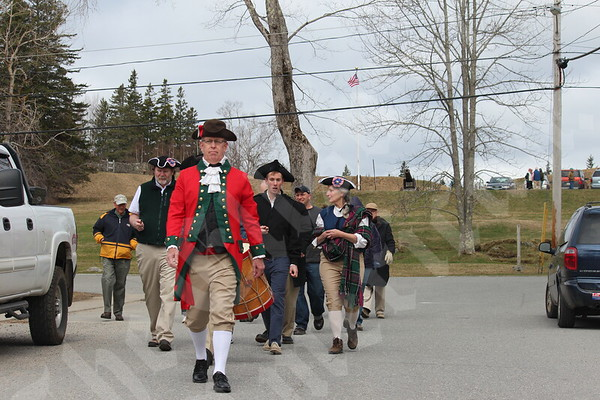 Castine Historical Re-enactment