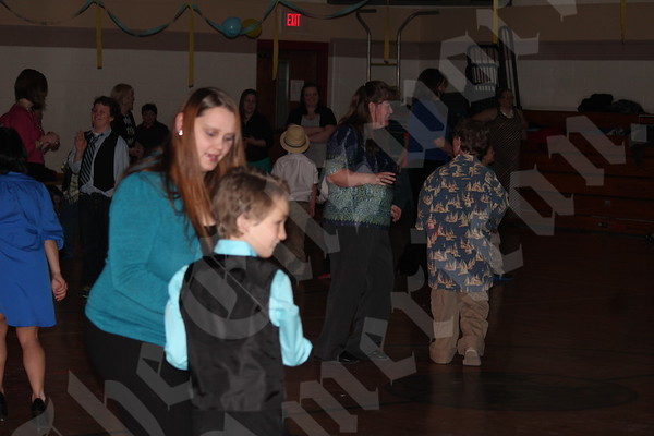 Mother-son dance in Bucksport