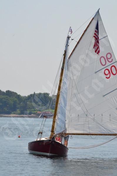 Southwest Harbor Friendship sloop race 2015