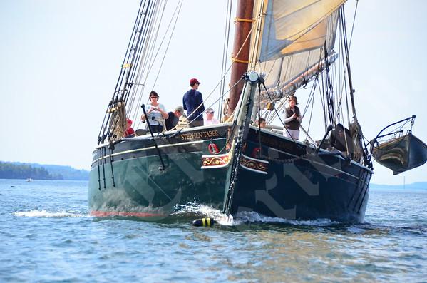 Windjammer sail-in