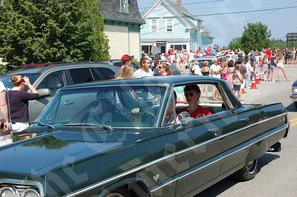 Deer Isle Fourth of July Parade; 2013