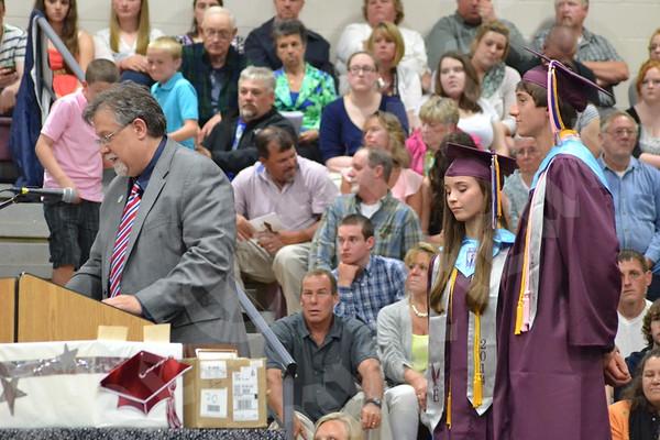 Ellsworth High School Graduation 2014