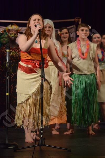 Peninsula and Ella Lewis schools'  show choir