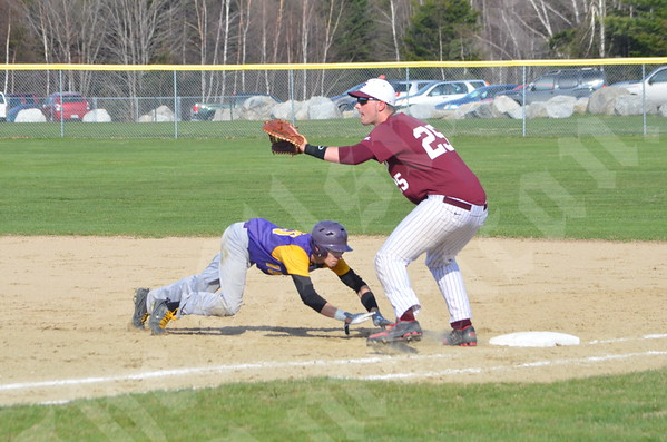 Baseball; Bucksport at GSA; 5/7