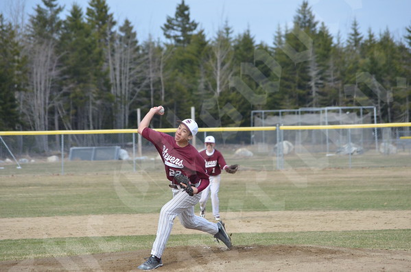Baseball; Sumner vs GSA; 4/22