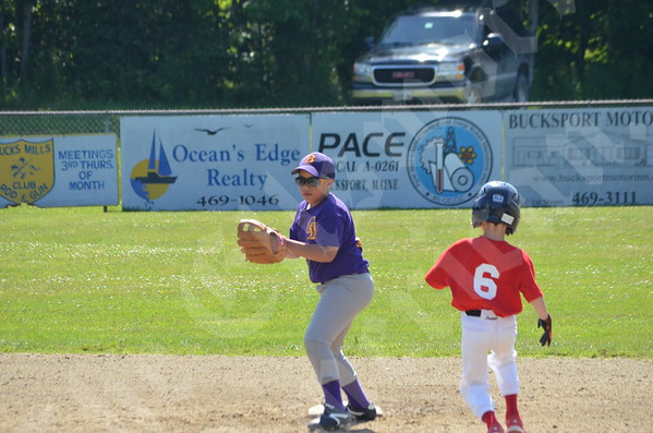 Baseball: Tournament of Champions Ellsworth 1 vs Bucksport 6/28