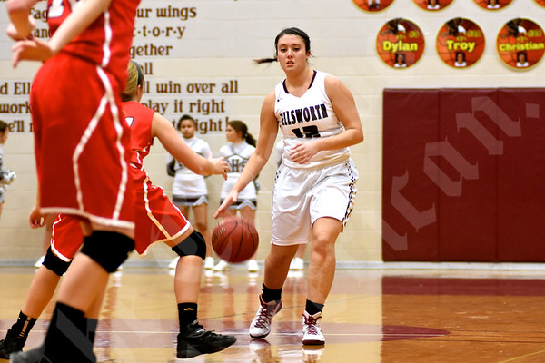 12/8/2015 Girls' basketball: Ellsworth vs. Central