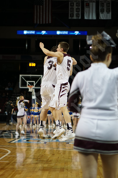 2-26-2016 - Boys' Class B State Championship - Ellsworth vs Lake Region